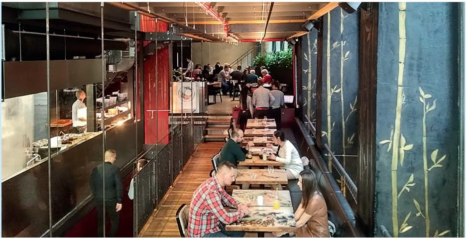 """Sia Restaurant - Pověsti oskvělém autentickém jídle nelžou. Možná by ale vinteriéru mohlo být """"Asie"""" malinko méně"""