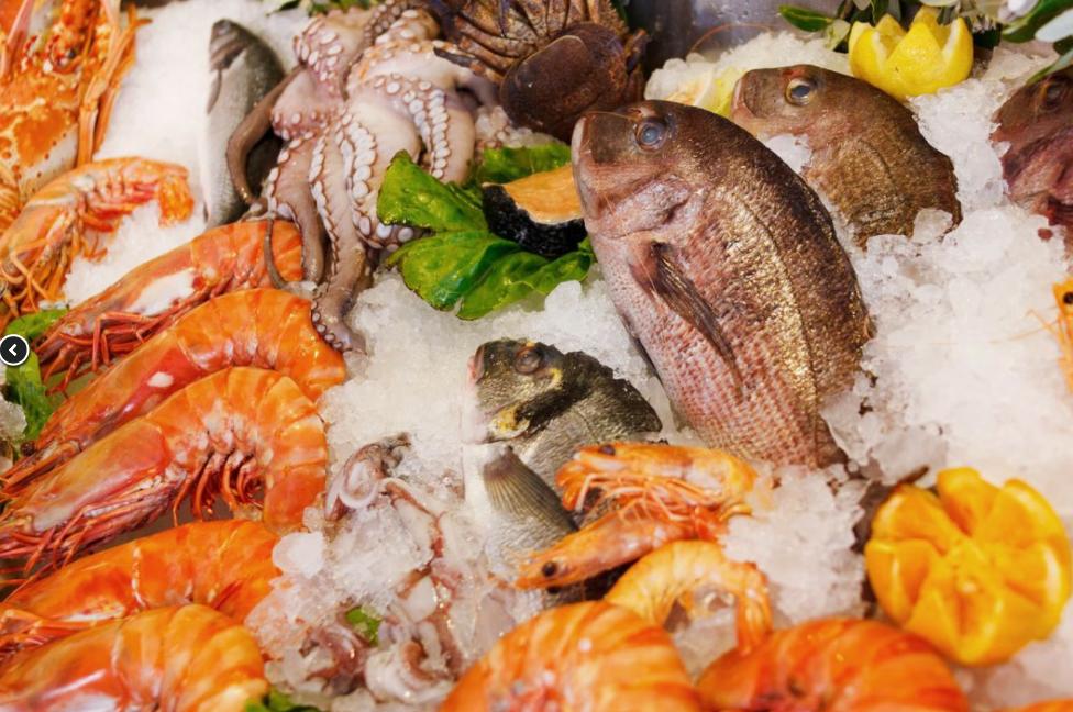 mořské plody aryby