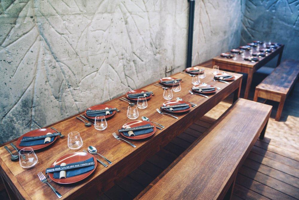 prostřený stůl vSia