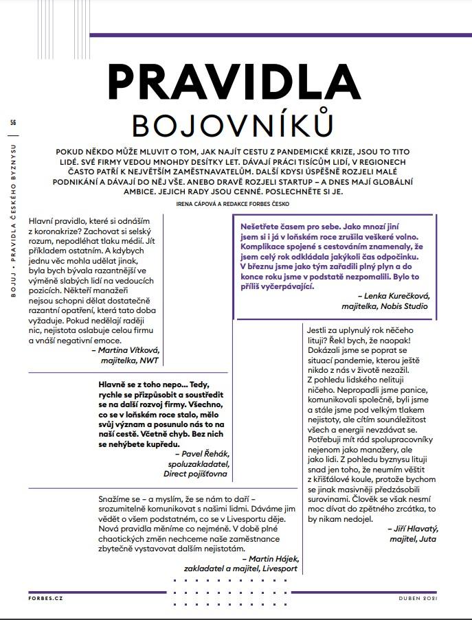 Bojuj - pravidla českého byznysu