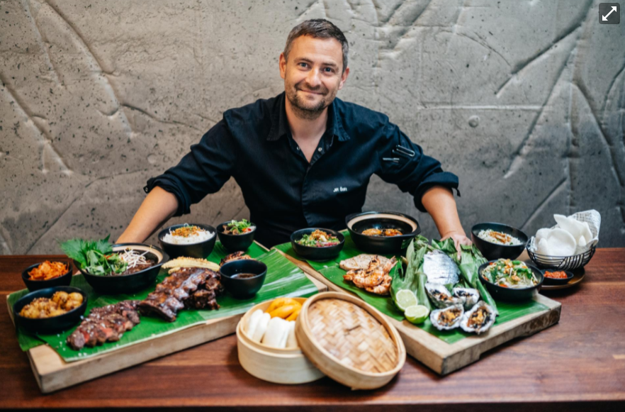 Jiří Štift se svými pokrmy