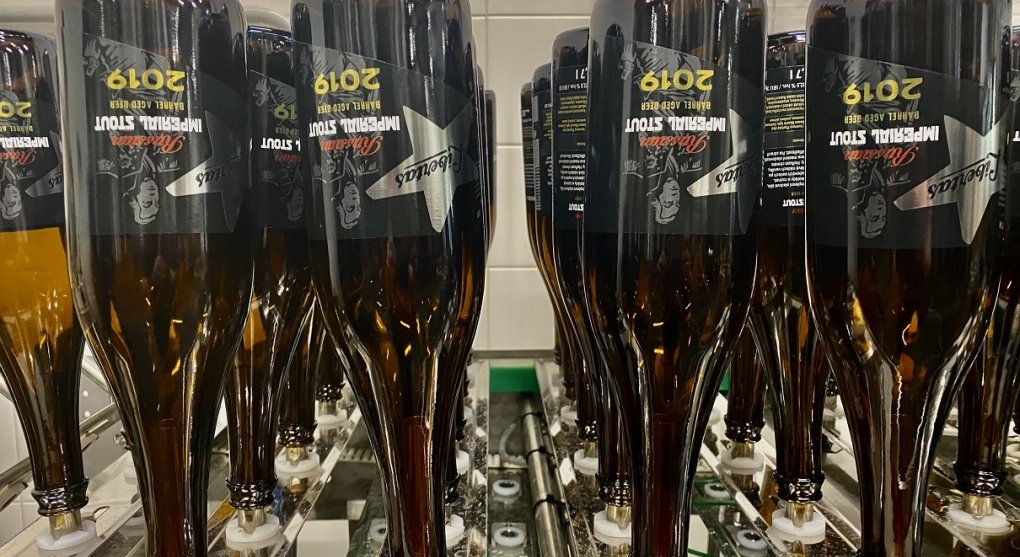 lahve na plnění piva